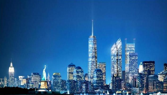WTC Concept Nighttime