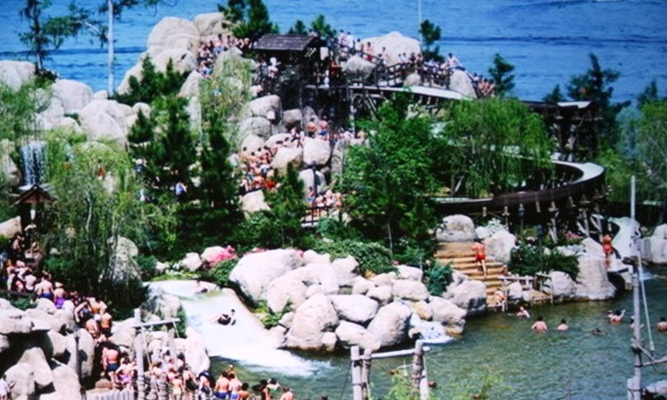 Walt Disney Wolds River Country - Walt disney world river country map
