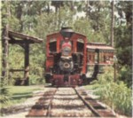 Image of Fort Wilderness train.