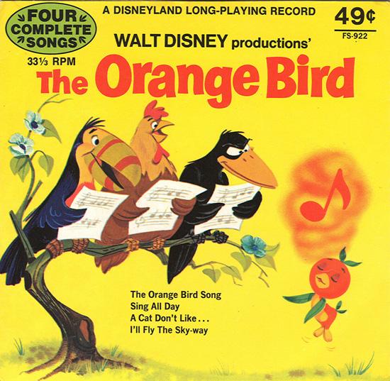 Florida Orange Bird Disney And The Florida Citrus Growers