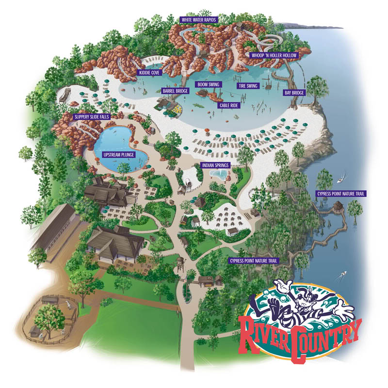 Walt Disney Wold's River Country