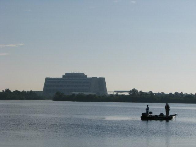 Walt disney world resort 39 s water fleet for Bass fishing disney world